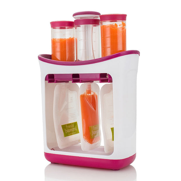 Baby Food Maker Set w/ Squeeze Pouches