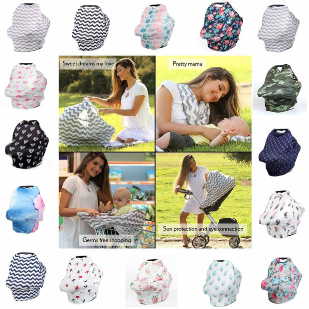 3-in-1 Breastfeeding Cover
