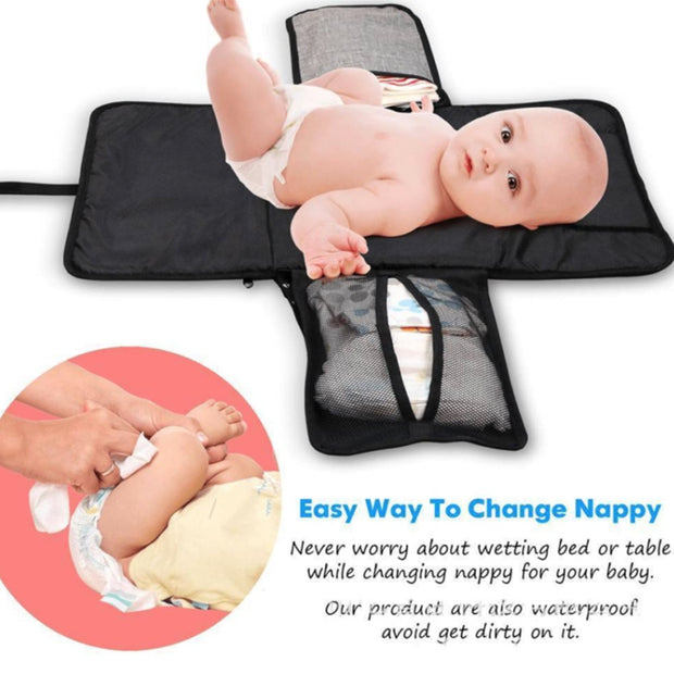 3-in-1 Waterproof Changing Pad