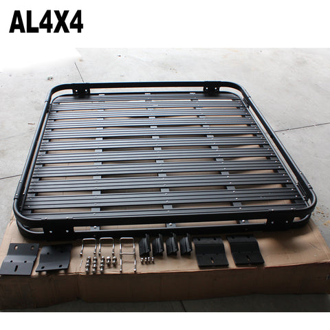 Black power aluminium roof rack luggage for Jeep wrangler JK