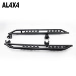 Side bar A 4 doors for jeep wrangler running board side bar