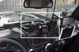 Militar Style Central Control Integrated Rail Fit for Jeep Wrangler JK 2007-2018