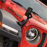 MAIKER  LED Whip Lights  Front Cobra Grille For Jeep Wrangler  With LED Headlights