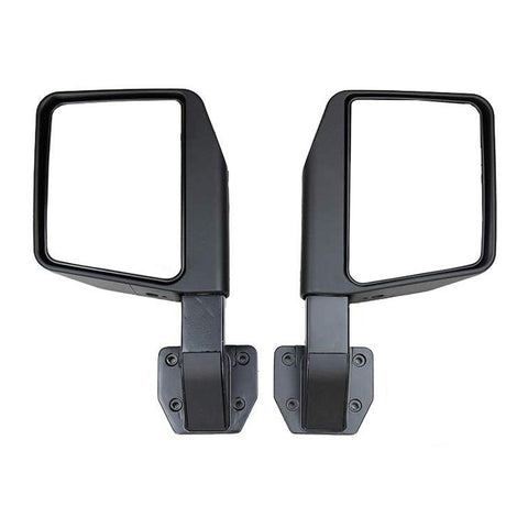 Maiker Reflection Mirrors Side View Mirrors for 2007-2017 Jeep Wrangler JK Tubular Door