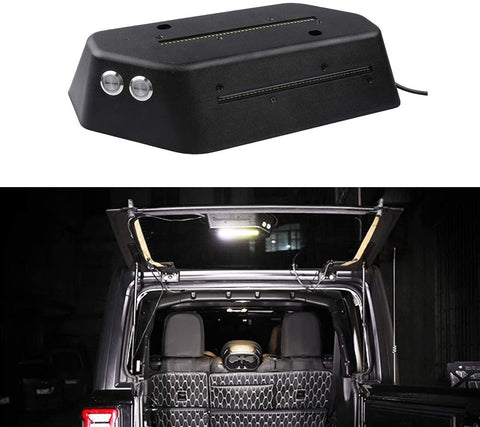 MAIKER LED Cargo Light Trunk Light for JL Replaces with The Rear Wiper Motor Cover Dedicated Designed Interior Parts with Dedicated Tools Easy Installation Wrangler JL JLU