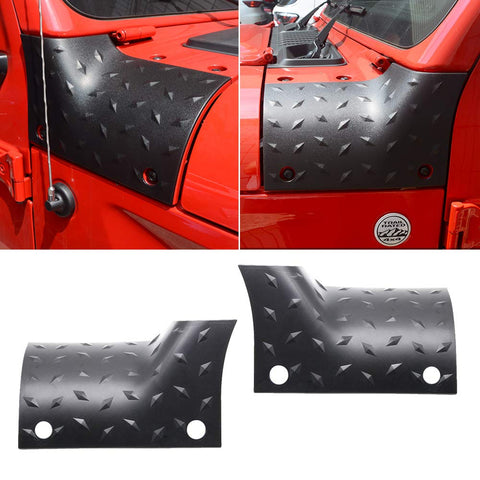 MAIKER Cowl Body Armor Outer Cowling Cover for 2018 2019 Jeep Wrangler JL Sahara Sport Sports Rubicon