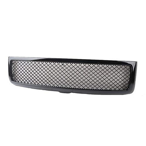 MAIKER Front Mesh Type Grille for Dodge Ram 1994-2002 (Gloss Black)