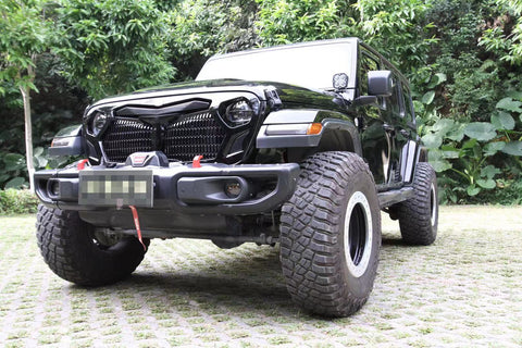 FURY GRILLE FOR JEEP WRANGLER JK
