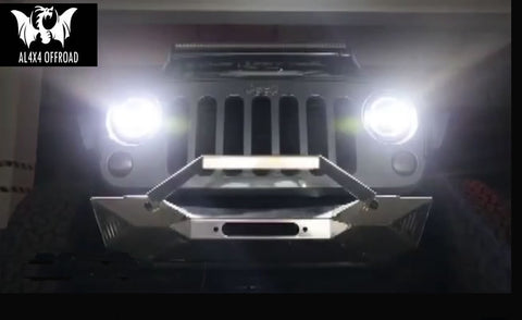Optimus Prime Series Front Bumper For Jeep Wrangler JK
