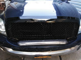 MAIKER Front Grille for 2006-2008 Dodge Ram 1500, Gloss Black