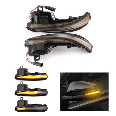 Side Mirror LED Dynamic Turn Signal Light For Toyota Alphard Vellfire AH30 Tacoma 16-19 RAV4 2019 -20 Highlander