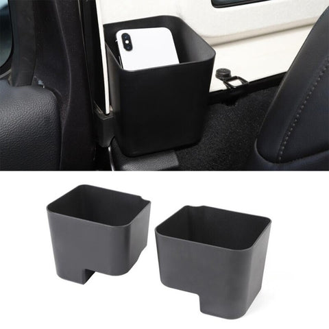 Rear Drink Holder Rear Seat Side Storage Box for Jeep Wrangler JL 2018+ Cup Holder Accessories