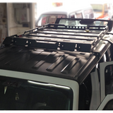 4x4 roof luggage rack basket Car Top Luggage Holder for Jeep Wrangler JK JL