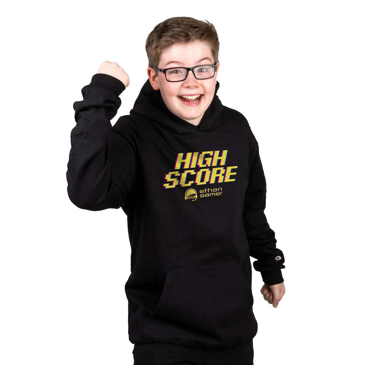 Ethan Gamer x Champion 'High Score' Hoodie