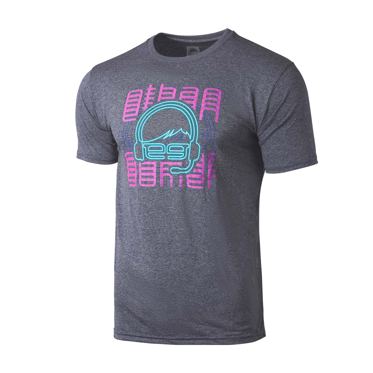 Ethan Gamer 'Neon Glitch' Performance Tee