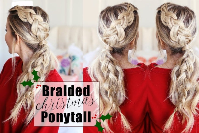 THREE ELEGANT CHRISTMAS HAIRSTYLES YOU CAN DO YOURSELF