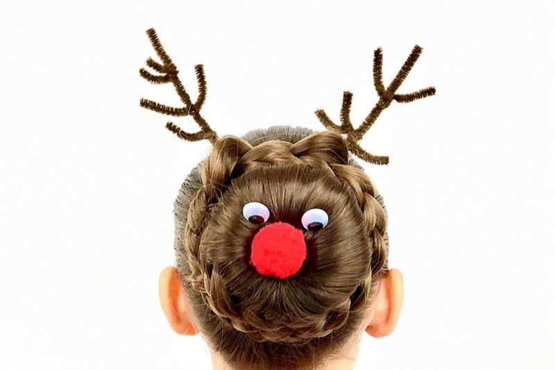THE BEST NOVELTY HAIRSTYLES TO SLAY THIS CHRISTMAS