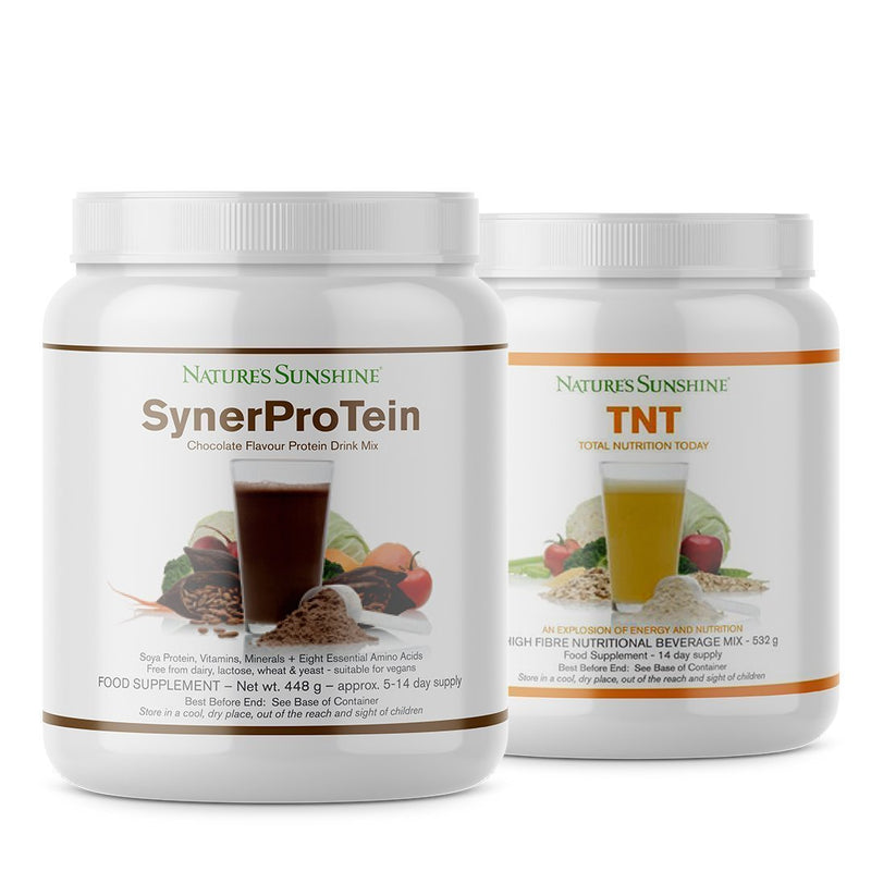 Nature's Sunshine SynerProTein Chocolate & TNT