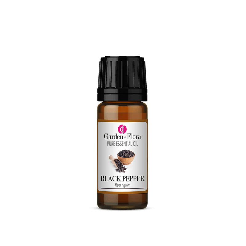 Garden of Flora Black Pepper Essential Oil 10ml