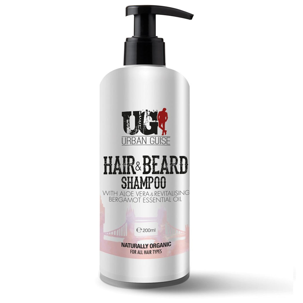 Energising Hair & Beard Shampoo 200ml