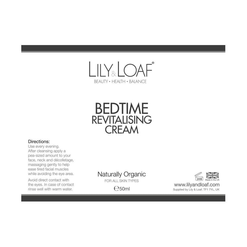 Lily & Loaf Bedtime Revitalising Cream 50ml