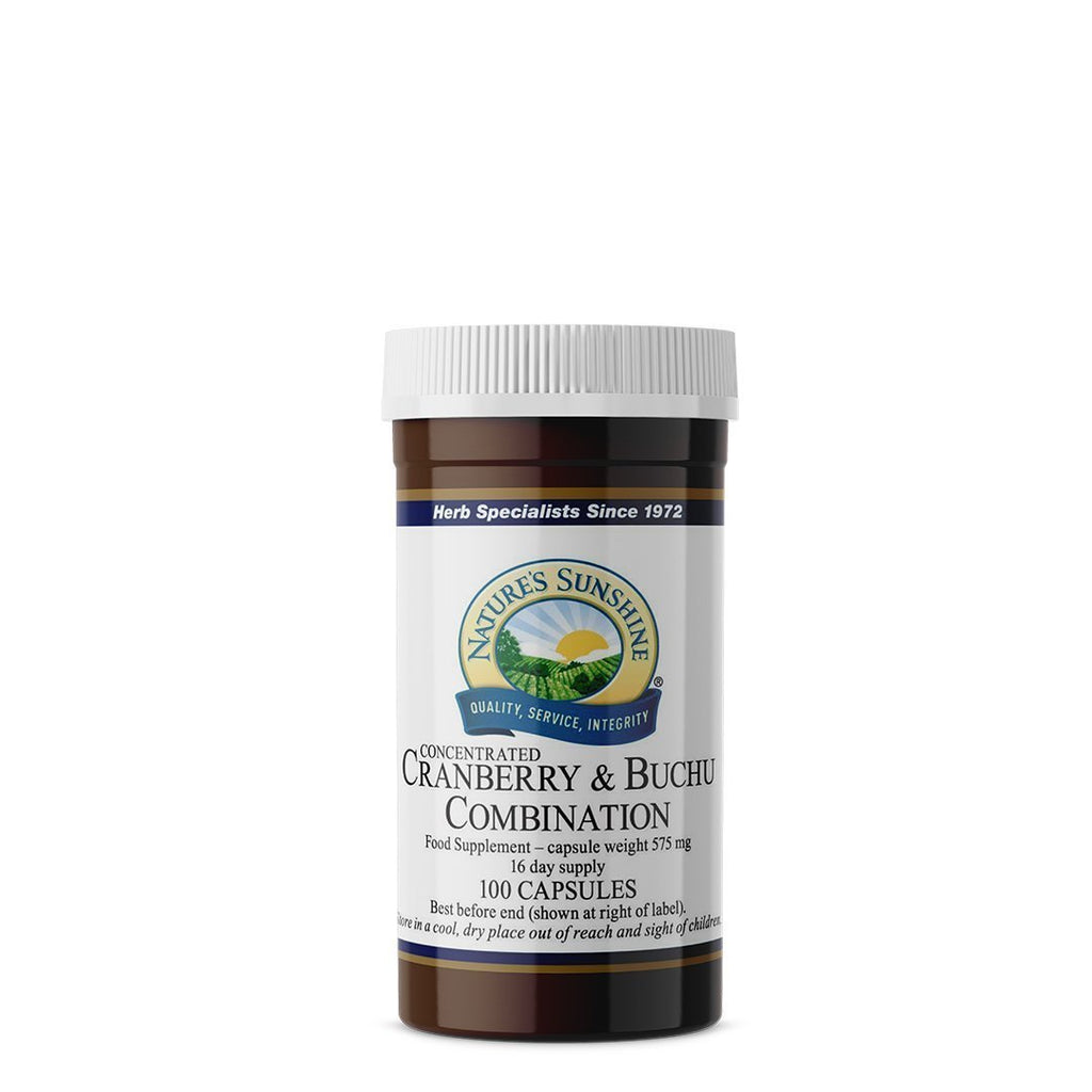 Nature's Sunshine Cranberry & Buchu Combination (100 capsules)