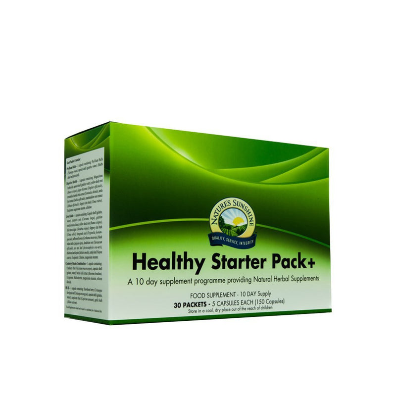 Nature's Sunshine Healthy Starter Pack+ (30 sachets)