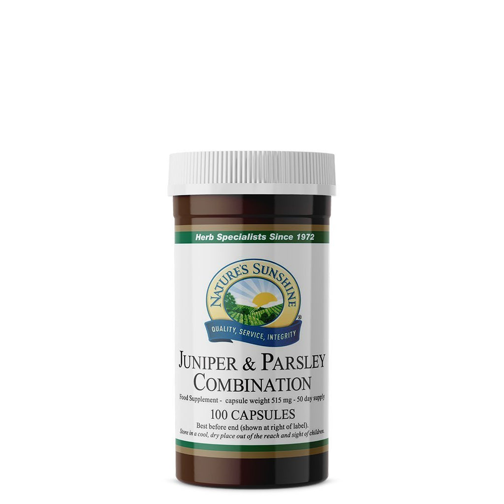 Nature's Sunshine Juniper & Parsley Combination (100 capsules)