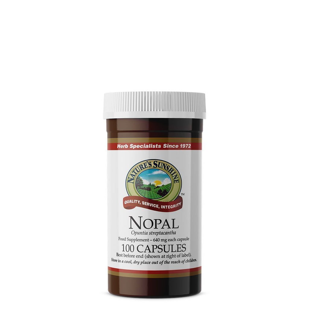 Nature's Sunshine Nopal (100 capsules)