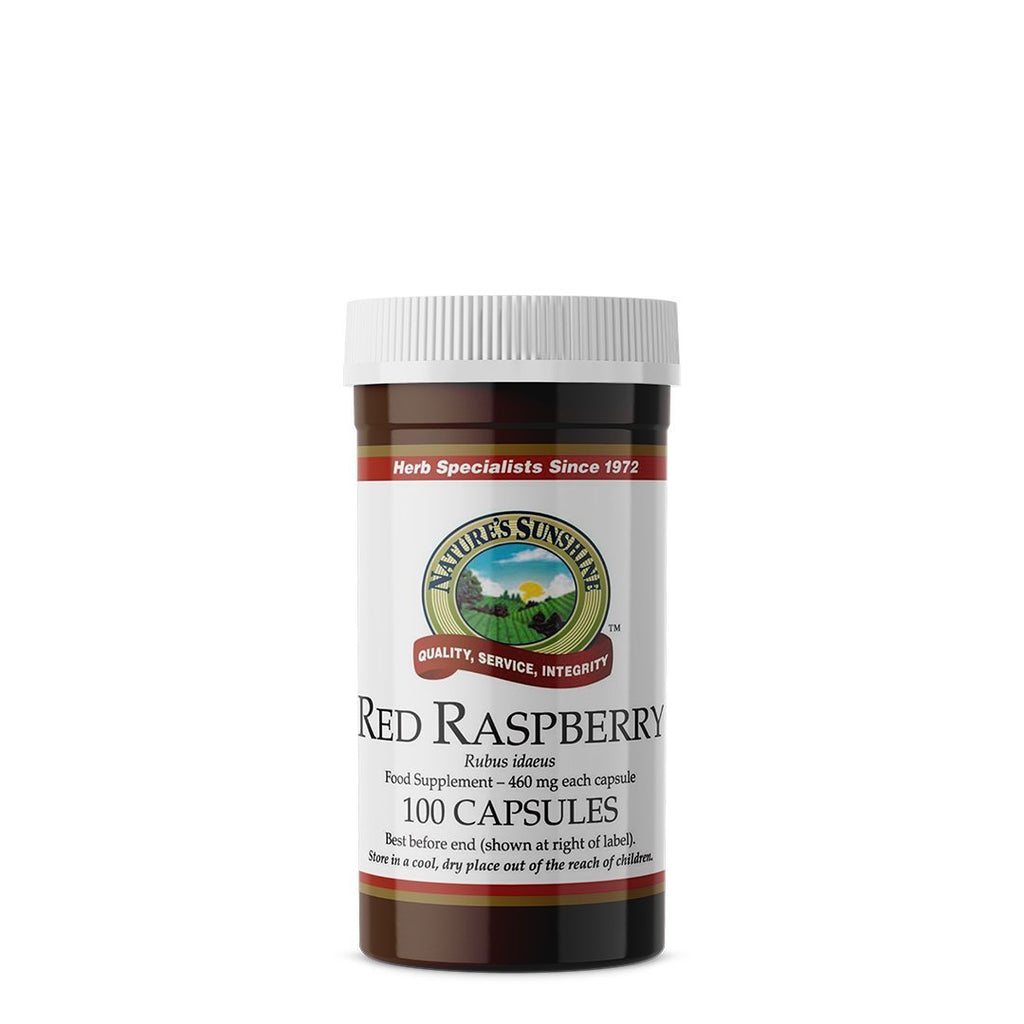 Nature's Sunshine Red Raspberry (100 capsules)