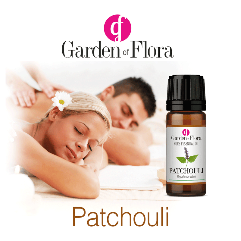 Garden of Flora Patchouli Essential Oil 10ml