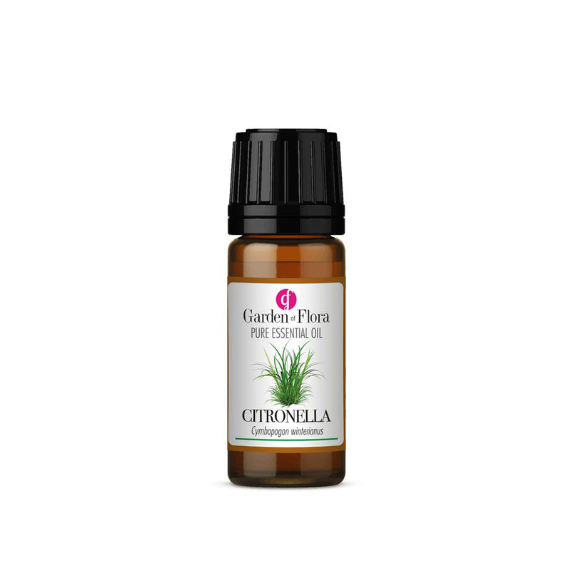 Garden of Flora Citronella Essential Oil 10ml