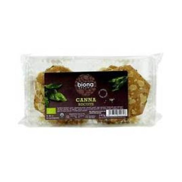 Biona Organic Canabiscuits (Hemp Seed + Raisin) Cookies - NAS 240g 6 Pack