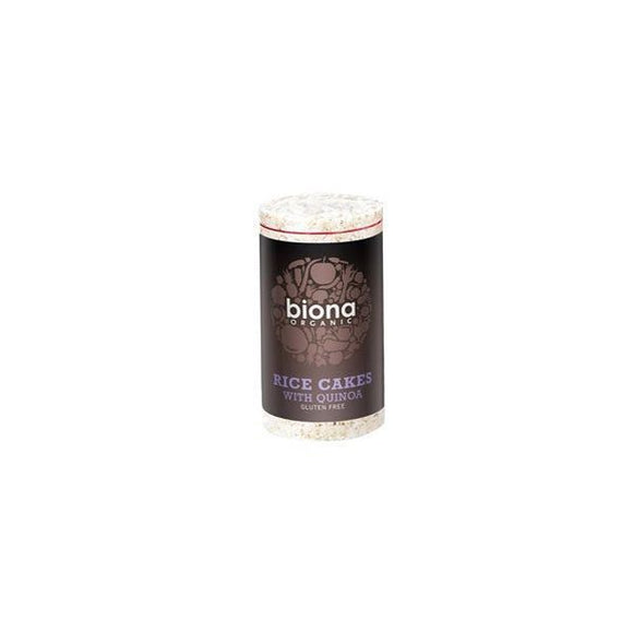 Biona Organic Rice Cakes with Quinoa 100g 12 Pack
