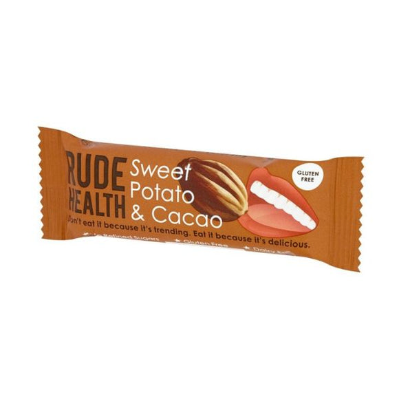 Rude Health Sweet Potato & Cacao Bar x 18 pack