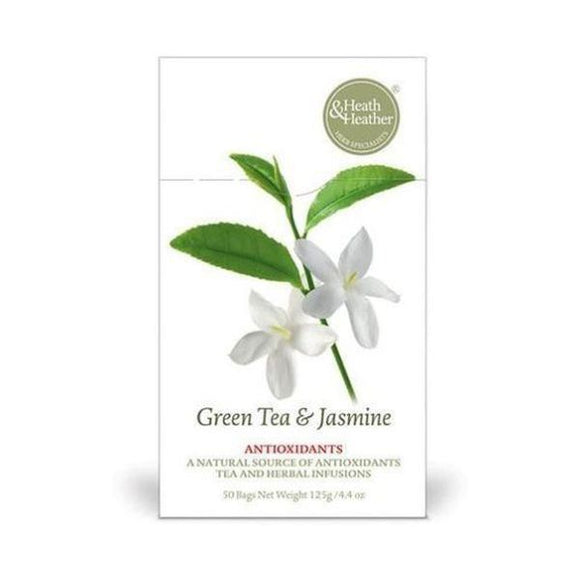 Heath & Heather Green Tea with Jasmine Flowers 50bags