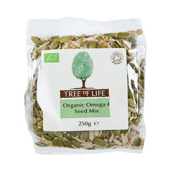 Ths Organic Mixes Organic Four Seed Mix Formally Omega 3 Mix x 6 pack