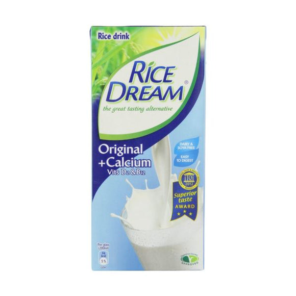 Dream Rice Dream Original - Calcium Enriched 1ltr 12 Pack