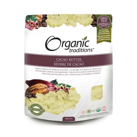 Organic Traditions Organic Cacao Butter