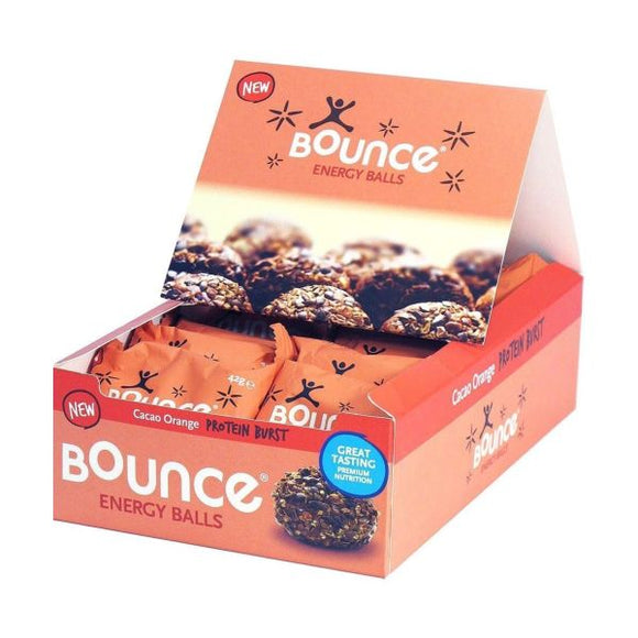 Bounce Cacao Orange Protein Burst 42g 12 Pack