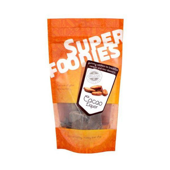 Superfoodies Organic Cacao Liquor 100g