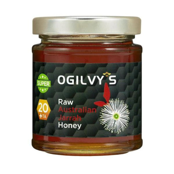 Ogilvy'S Raw Australian Jarrah Honey TA 20+ 240g