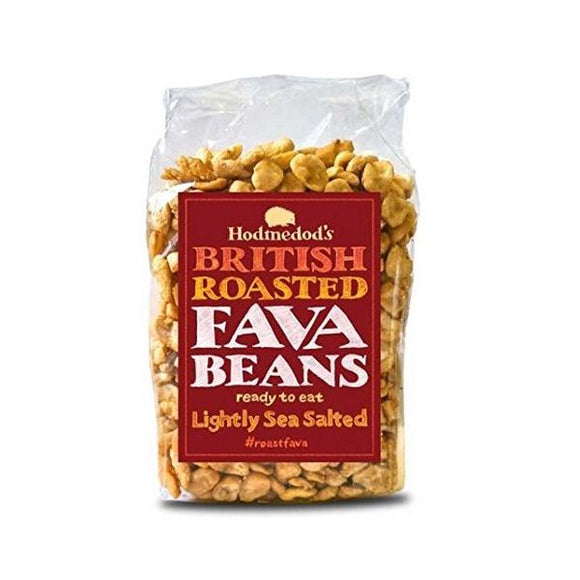 Hodmedod'S Roasted Fava Beans - Lightly Sea Salted 300g