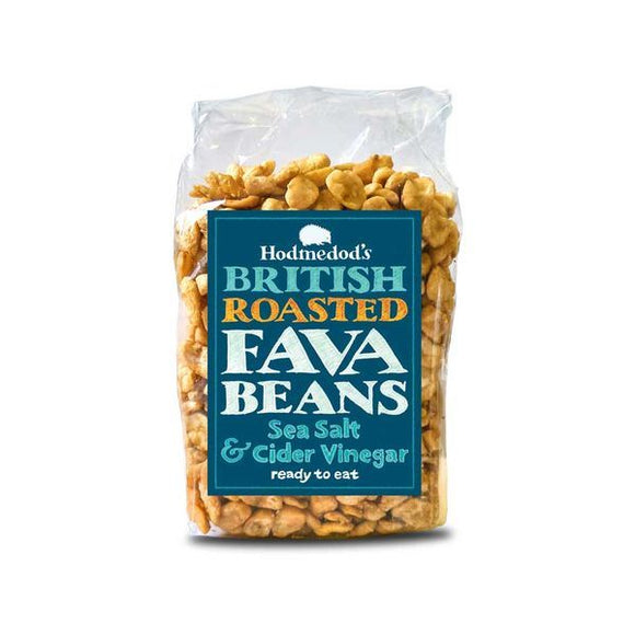 Hodmedod'S Roasted Fava Beans - Sea Salt & Cider Vinegar 300g