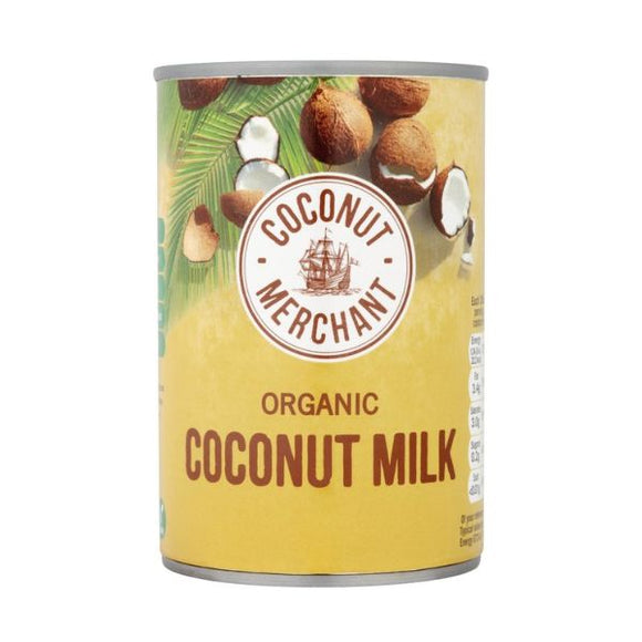 Coconut Merchant Organic Coconut Milk 400ml