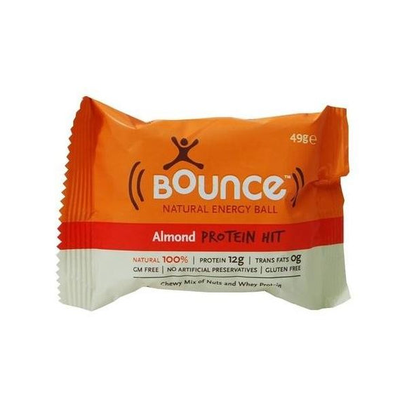 Bounce Bounce Almond 'Protein Hit' 49g 12 Pack