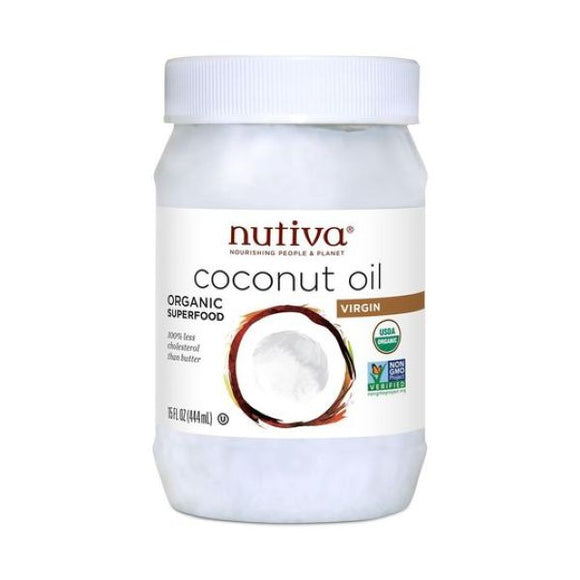 Nutiva Organic Extra Virgin Coconut Oil 444ml