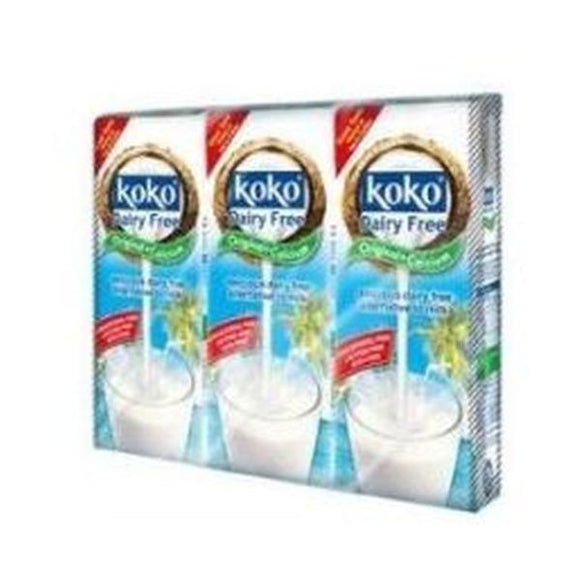 Koko Dairy Free Original Plus Calcium - Triple Pack 3x250ml