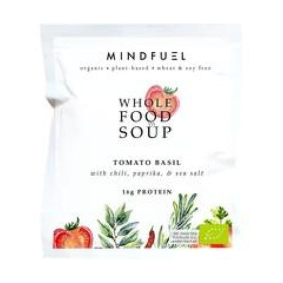 Mindfuel Organic Whole Food Soup Super Greens x 10 pack