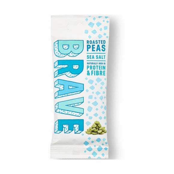 Brave Foods Roasted Peas Sea Salt x 12 pack